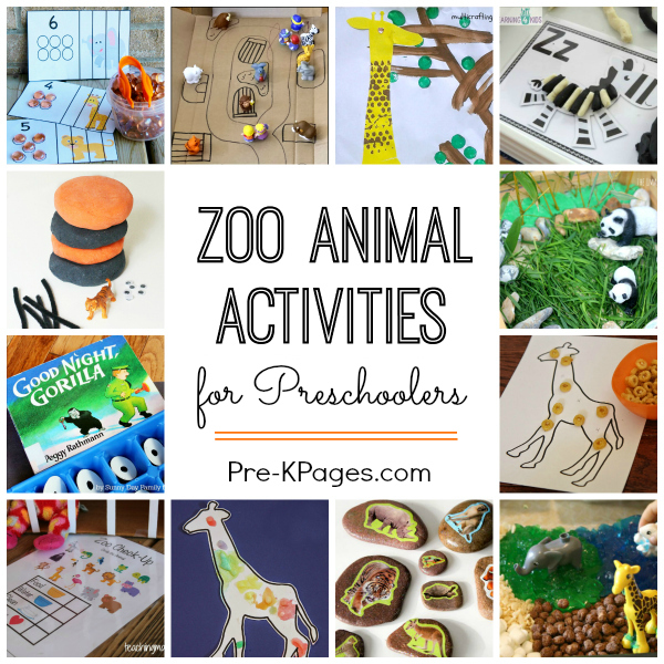 Zoo Theme Activities for Preschool