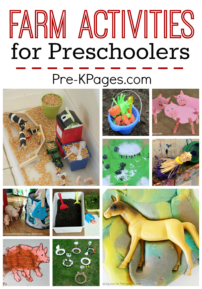 farm activities for preschool