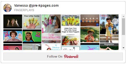 The importance of fingerplays in preschool