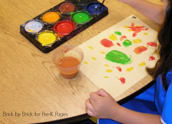 Still Life Preschool Painting Activity Pre K Pages