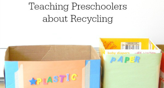 Talking About Recycling with Preschoolers