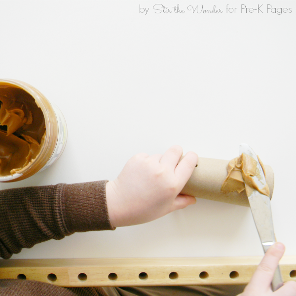 make bird feeder preschool