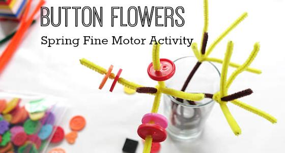 Spring Fine Motor Activity