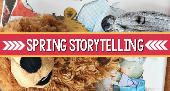 Retelling a Spring Story with Puppets
