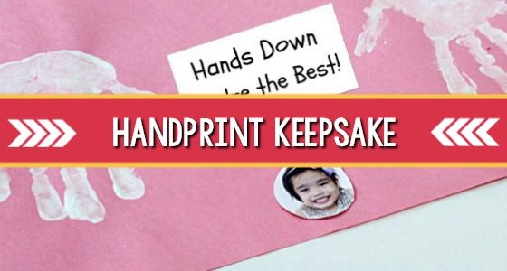 Handprint Keepsake Placemat