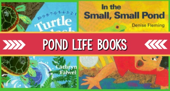 Books About Ponds for Preschoolers
