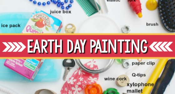 Earth Day Painting Activity