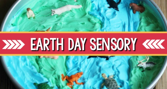 Sensory Play Activity for Earth Day