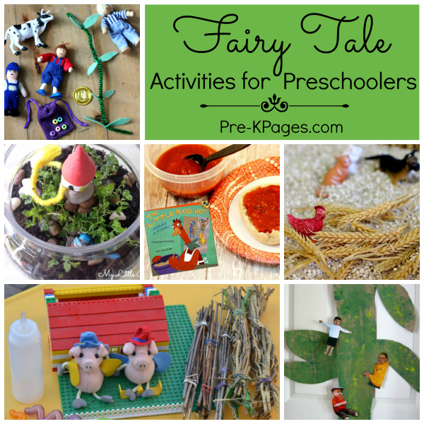 A Collection Of Fairy Tale Activities Pre K Pages