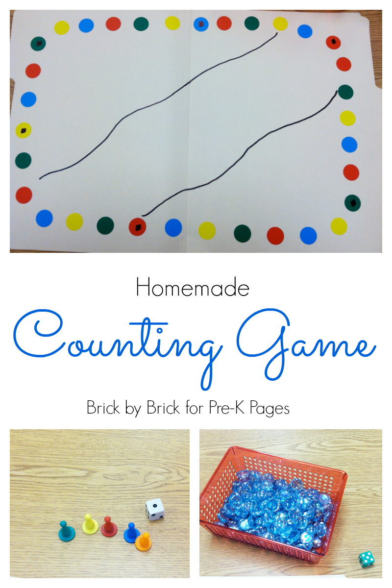 Homemade Counting Game