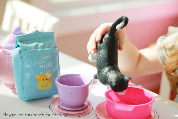 Cats Cafe Dramatic Play