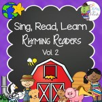 Rhyming Readers Printable Nursery Rhyme Books Vol 2 by Dr. Jean Feldman