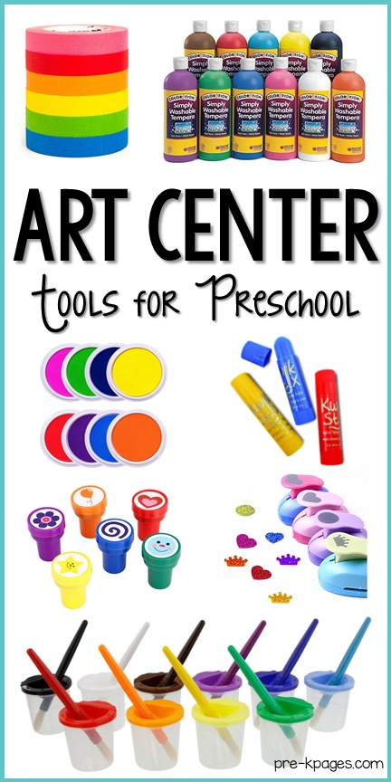 Best Art Center Supplies for Preschool