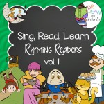 Dr. Jean Rhyming Readers Vol 1 Nursery Rhyme Printables