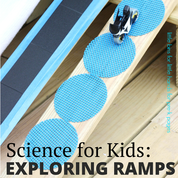 Science For Kids Exploring Ramps And Friction Pre K Pages