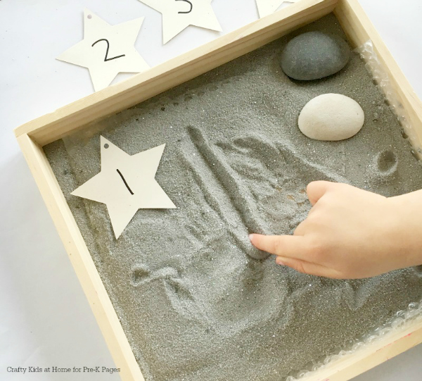 Moon Salt Writing Tray