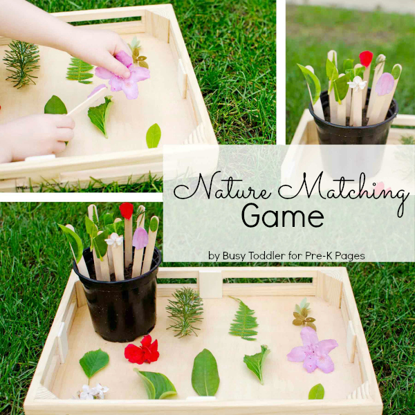Nature Matching Game