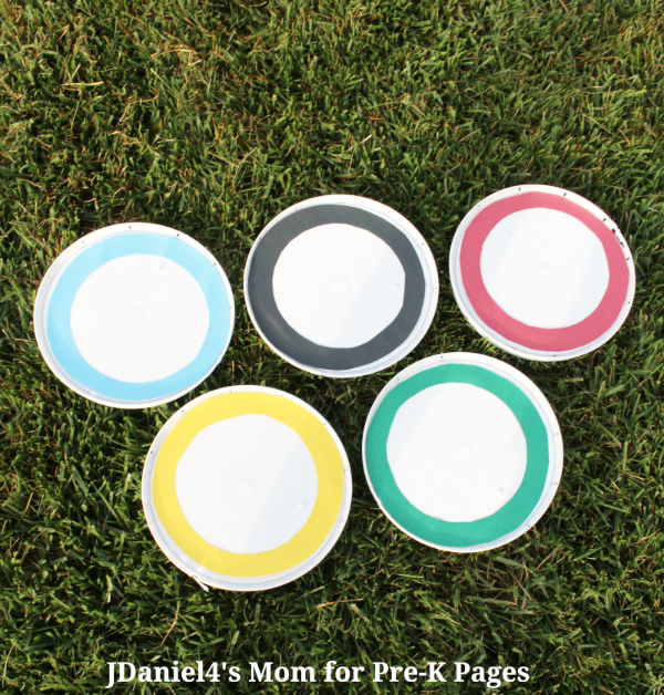 Olympic Rings outdoor game