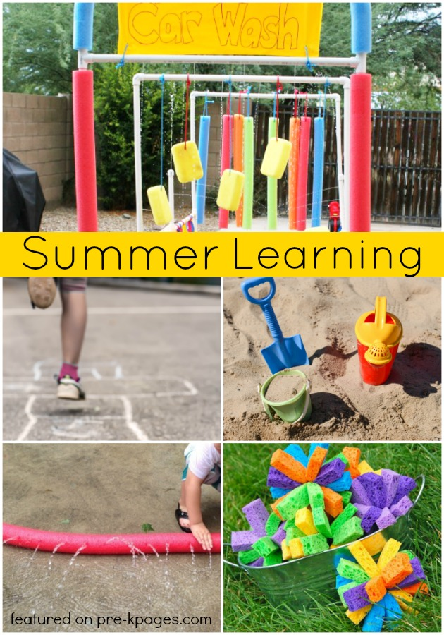 Summer Learning Activities For Preschool Pre K Pages