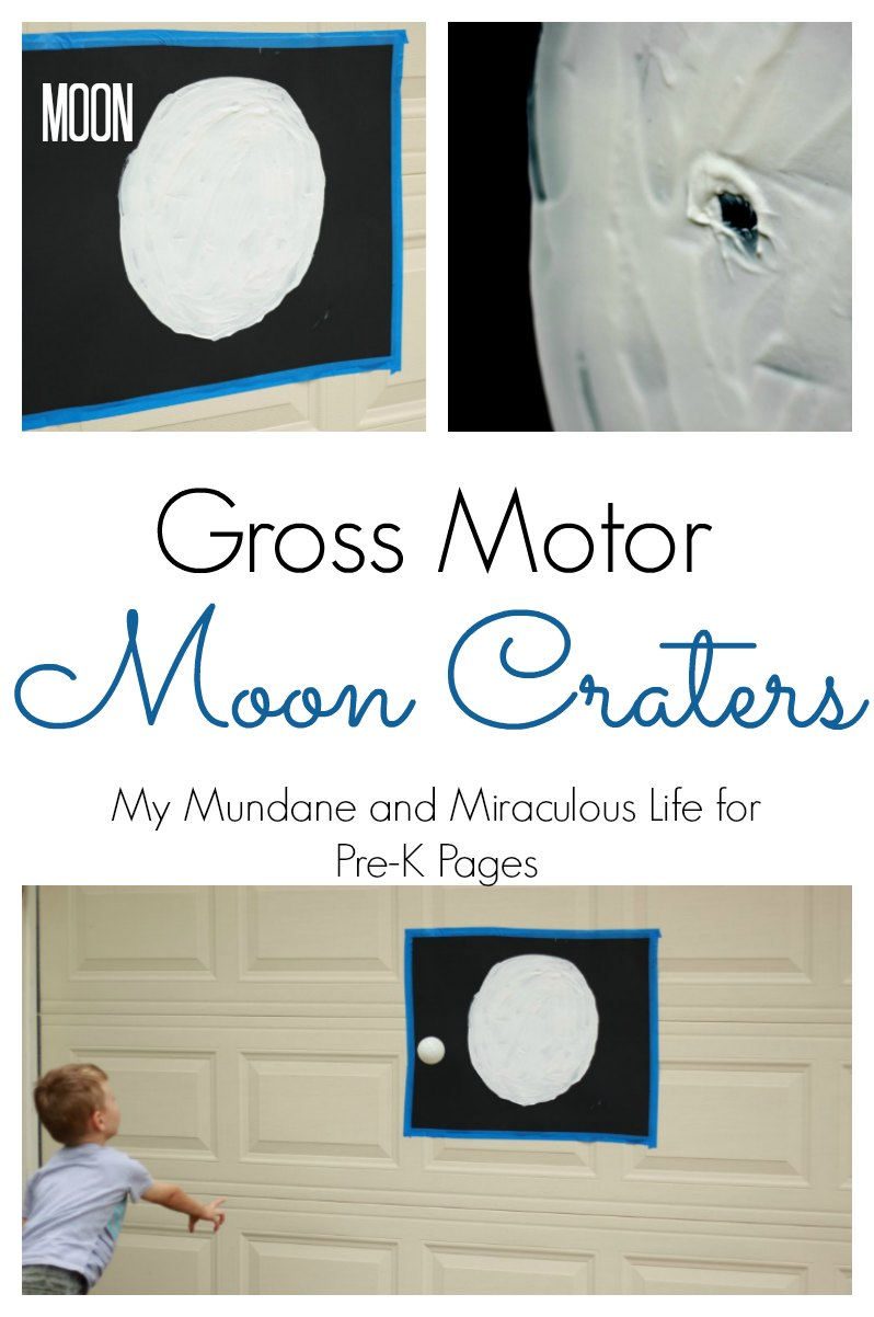 gross motor moon craters preschool