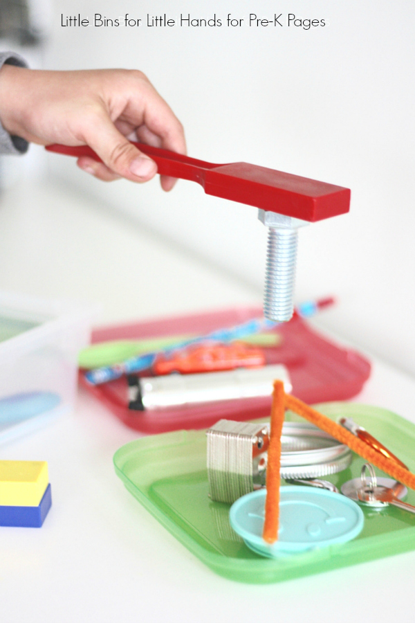 science magnets magnet objects pre activity pick exploring magnetism pages
