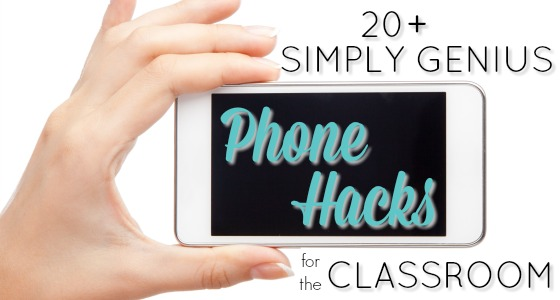 A list of the best Phone Tips for Teachers to use in the Classroom to Save Time