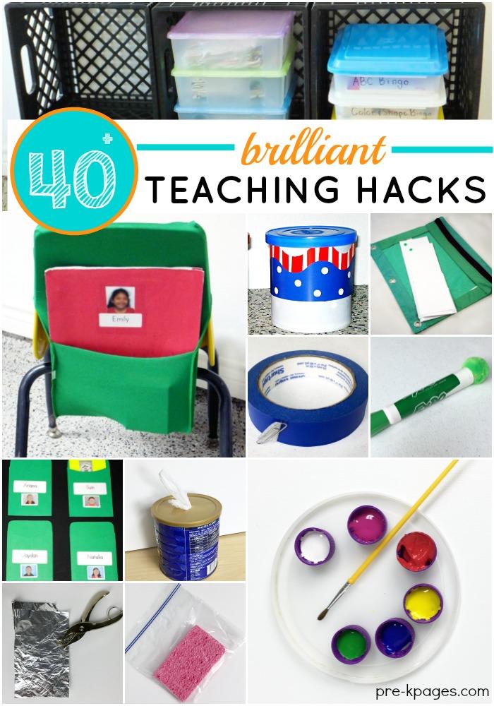 40 Brilliant Teaching Hacks Pre K Pages