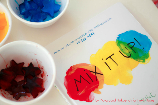 Mix It Up book for color activity