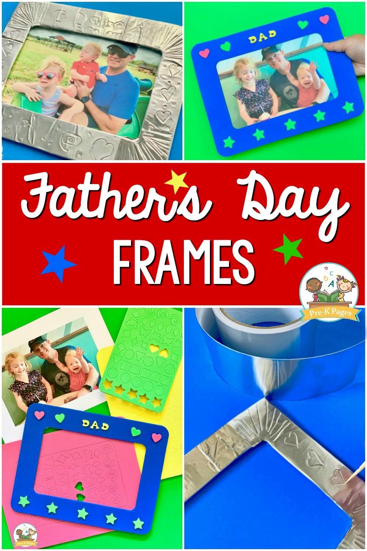 Father_s Day Frames DIY gift preschool