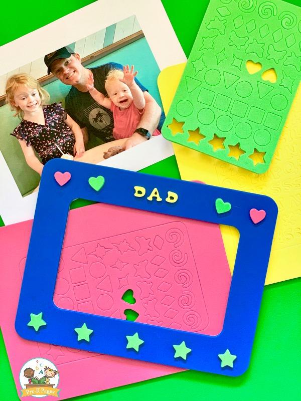 foam frames for dad