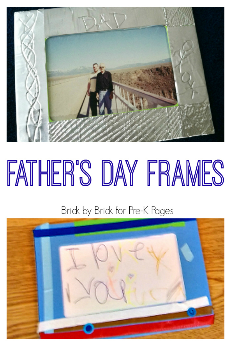 Fathers Day Frames for preschool