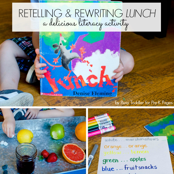 reading and retelling a story
