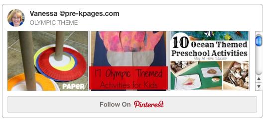 Olympics Theme Pinterest Board