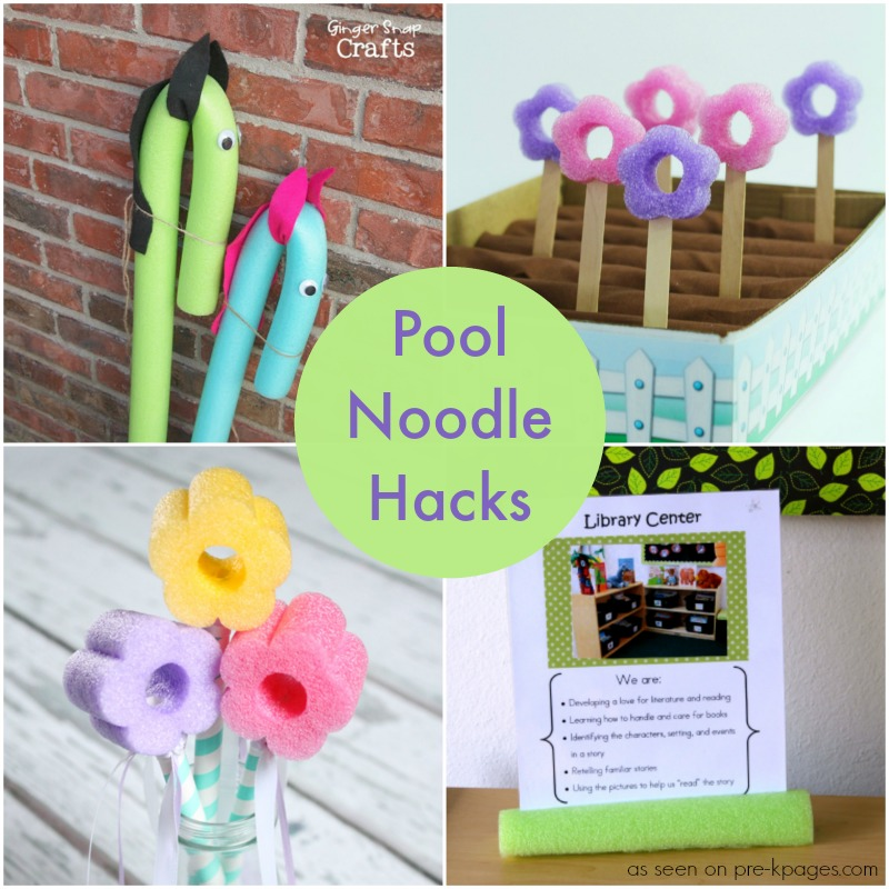 Pool Noodle Ideas for the Classroom
