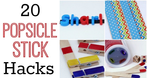 20+ Popsicle Stick Hacks for the Classroom