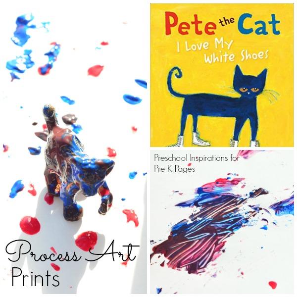 pete the cat process art prints