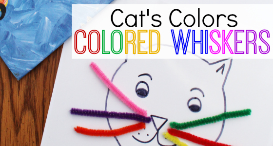 Cat's Colors: Colored Whiskers