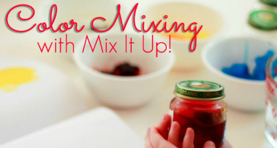 Mix It Up: Mixing Colors Preschool Activity
