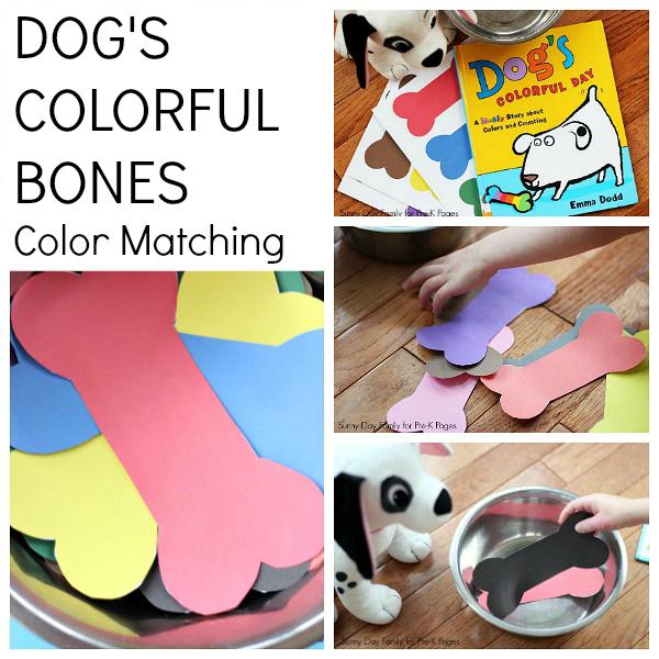 colorful bones activity pets