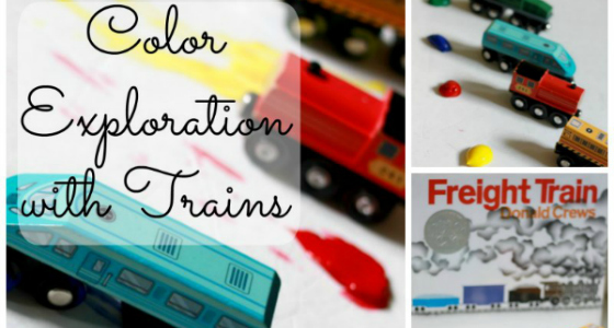 Freight Train: Exploring Colors with Trains Activity