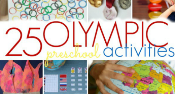 20 Olympic Themed Games For Preschool Kids