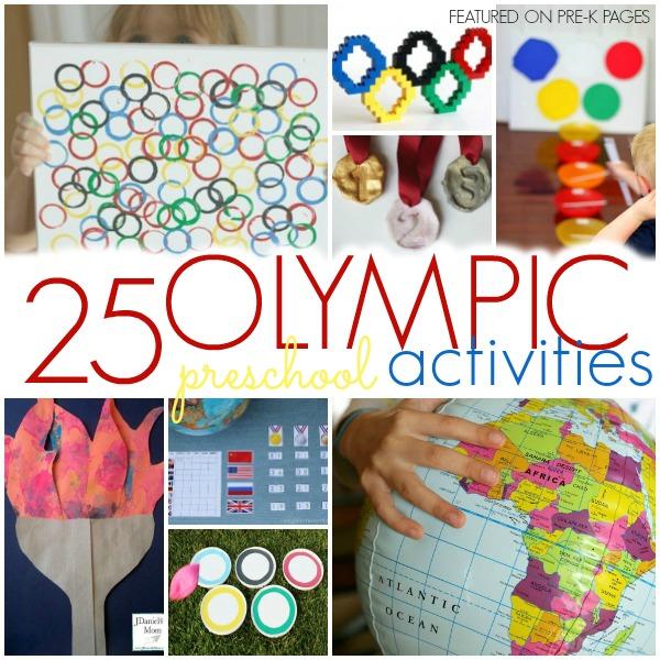 Olympic Theme Ideas for Preschool and Kindergarten