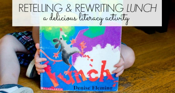 Lunch: Retelling and Rewriting