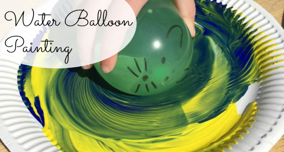 Mouse Paint: Water Balloon Painting