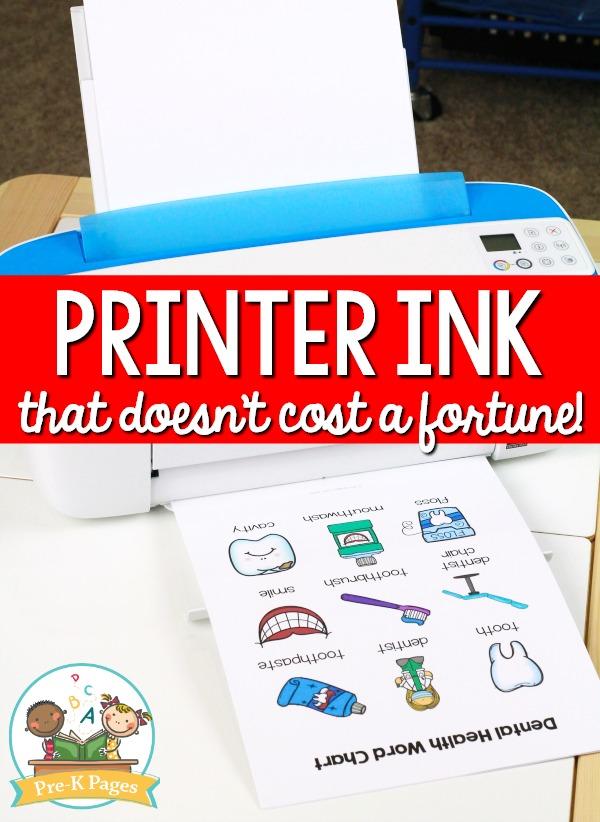 Affordable Ink Program