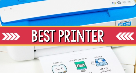 Best Home or School Printer for Teachers (with affordable instant ink subscription)