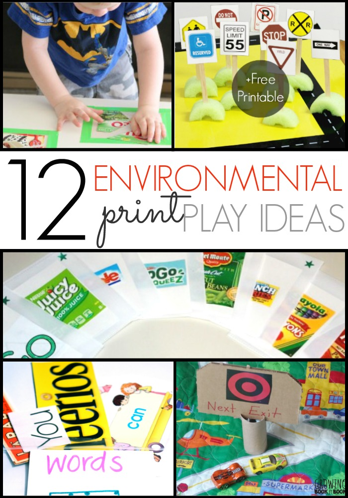 image about Printable Environmental Print referred to as Programs for Working with Environmental Print - Pre-K Web pages
