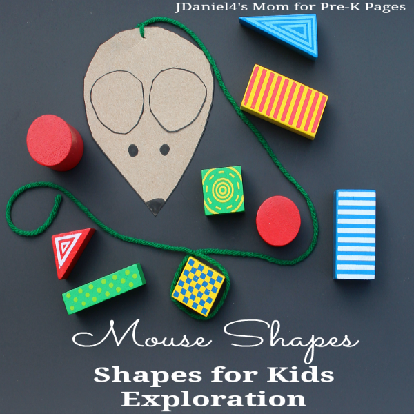 Mouse Shapes book activity