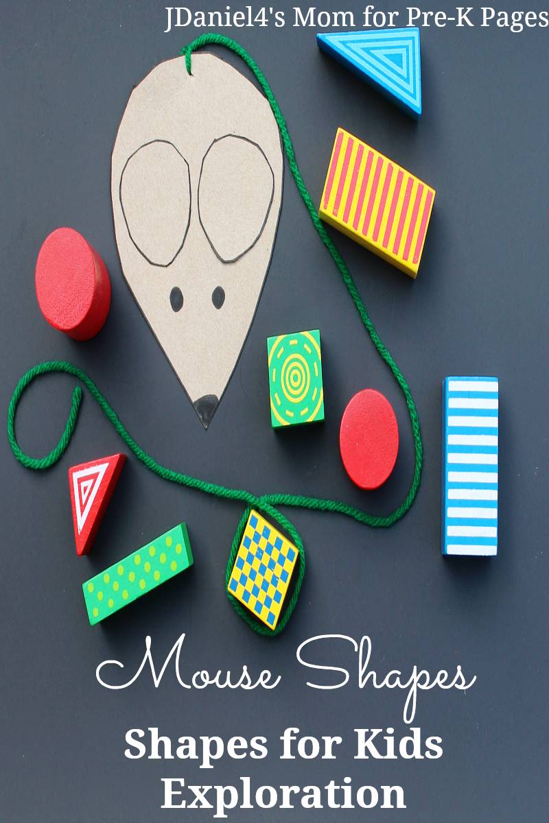 shape exploration for preschool