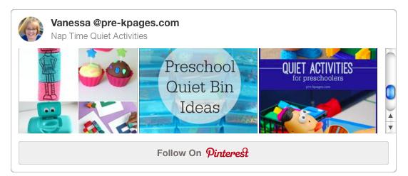 Nap Time Quiet Activities Pinterest Board